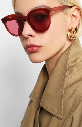 Женские солнцезащитные очки GENTLE MONSTER красного цвета, арт. BLACKPETER RD1 | Фото 2