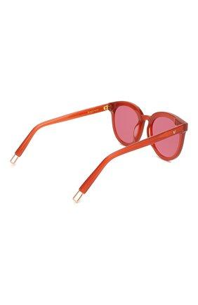 Женские солнцезащитные очки GENTLE MONSTER красного цвета, арт. BLACKPETER RD1 | Фото 4