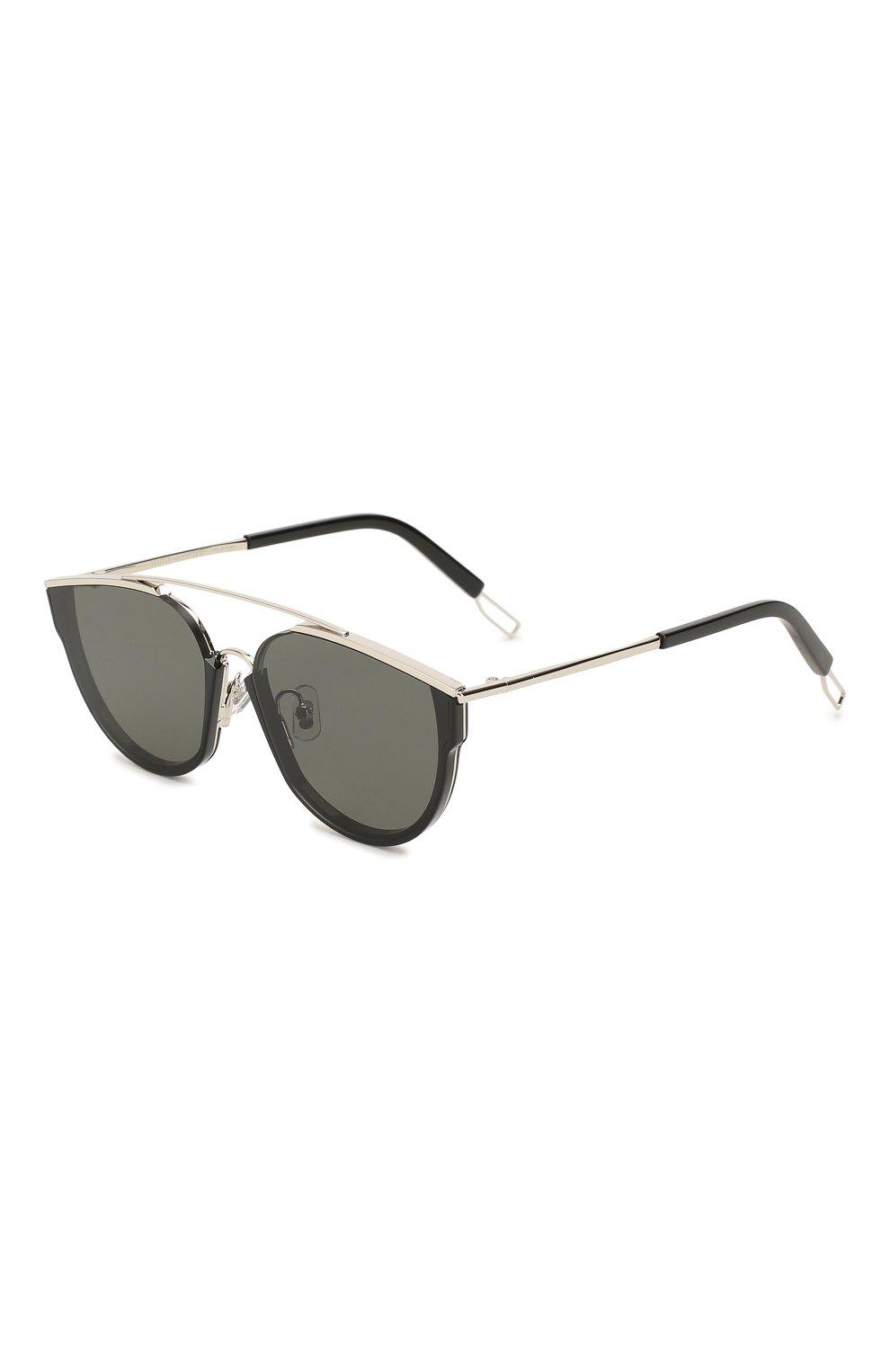 Женские солнцезащитные очки GENTLE MONSTER черного цвета, арт. L0E.S 01 | Фото 1