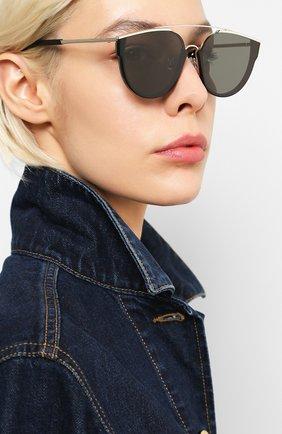 Женские солнцезащитные очки GENTLE MONSTER черного цвета, арт. L0E.S 01 | Фото 2