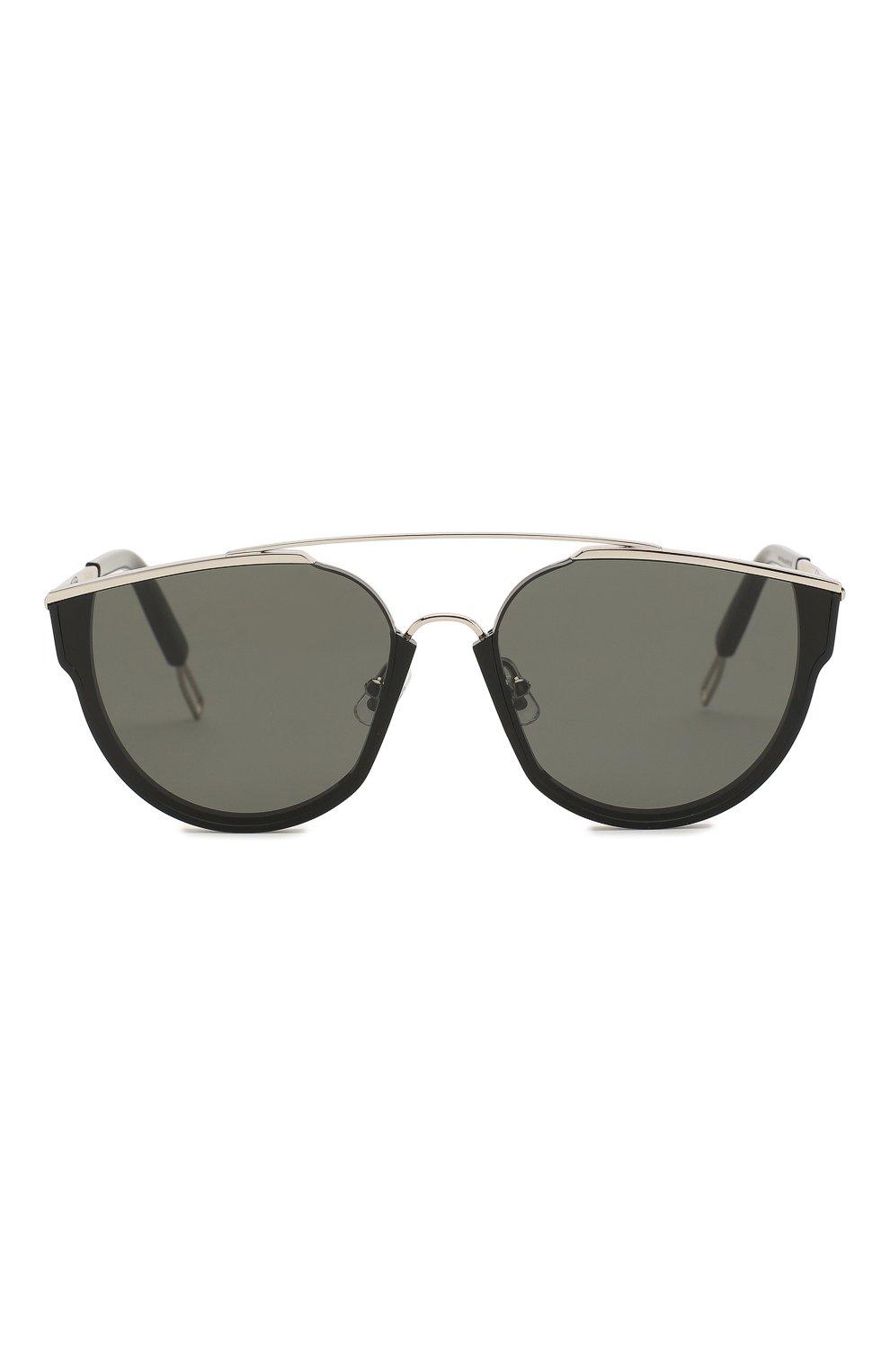 Женские солнцезащитные очки GENTLE MONSTER черного цвета, арт. L0E.S 01 | Фото 3