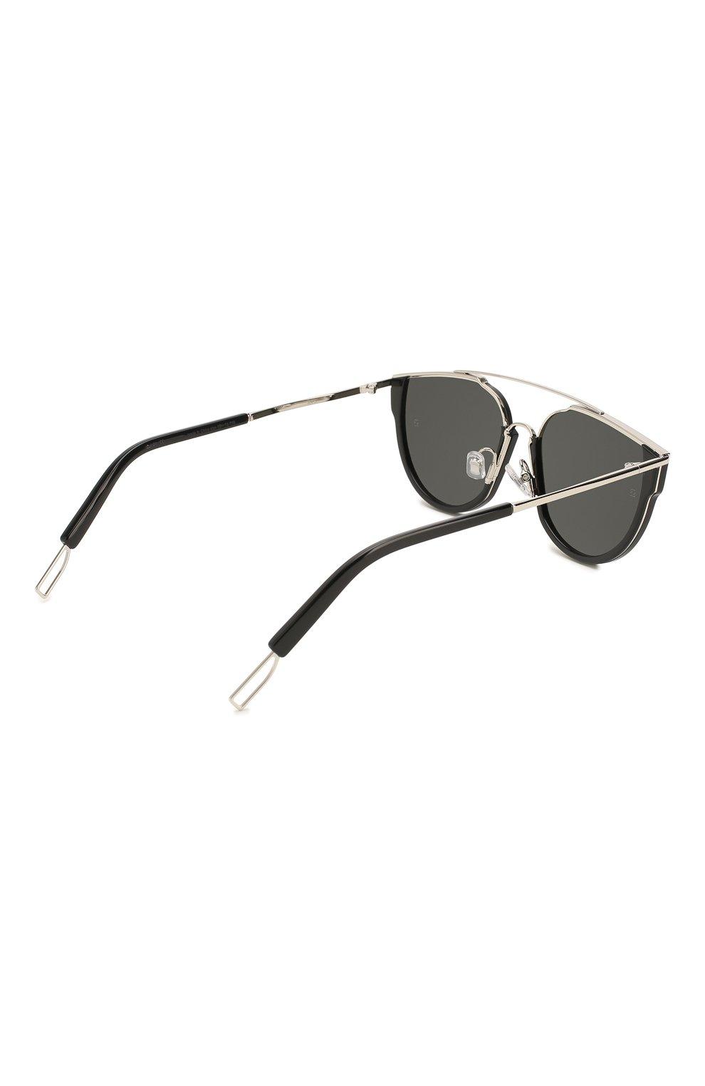 Женские солнцезащитные очки GENTLE MONSTER черного цвета, арт. L0E.S 01 | Фото 4