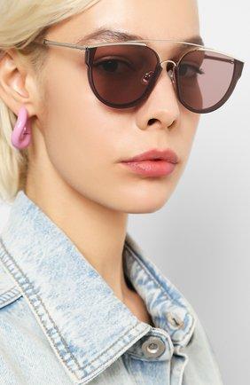 Женские солнцезащитные очки GENTLE MONSTER бордового цвета, арт. L0E.S VC3 | Фото 2