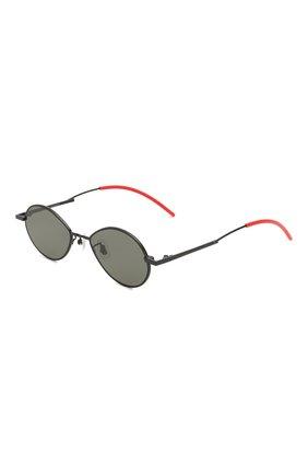 Мужские солнцезащитные очки GENTLE MONSTER черного цвета, арт. C0BALT M01   Фото 1