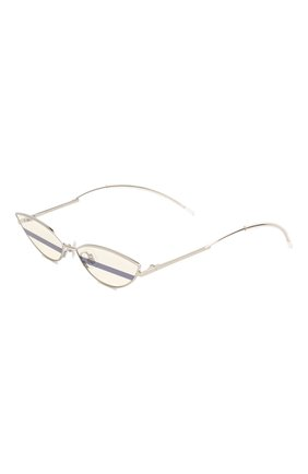 Женские солнцезащитные очки GENTLE MONSTER серебряного цвета, арт. P0XI 02 | Фото 1