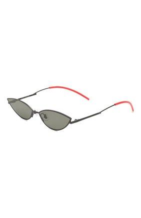 Мужские солнцезащитные очки GENTLE MONSTER черного цвета, арт. P0XI M01   Фото 1
