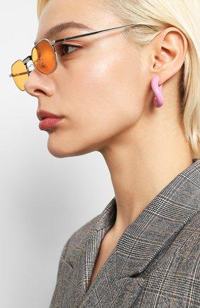Мужские солнцезащитные очки GENTLE MONSTER оранжевого цвета, арт. V0YAGERM 02   Фото 2