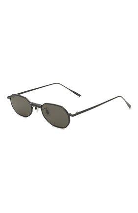Женские солнцезащитные очки GENTLE MONSTER черного цвета, арт. V0YAGERM M01 | Фото 1