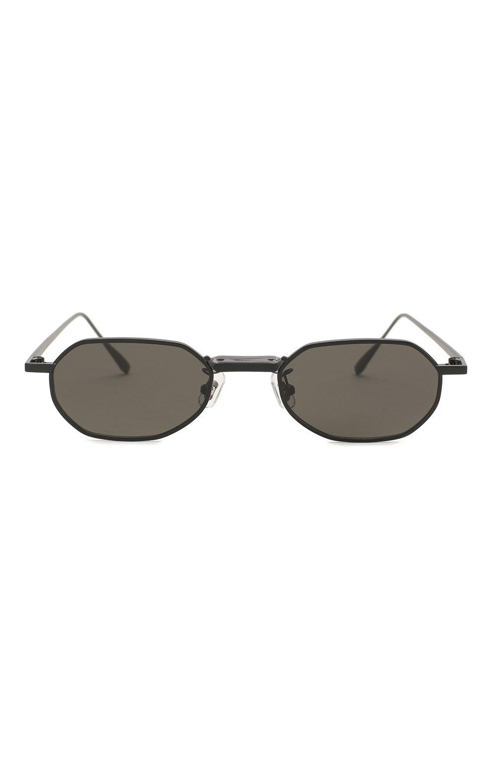 Женские солнцезащитные очки GENTLE MONSTER черного цвета, арт. V0YAGERM M01 | Фото 4