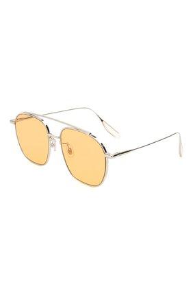Мужские солнцезащитные очки GENTLE MONSTER оранжевого цвета, арт. W00GIE 02(0R)   Фото 1