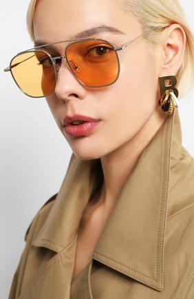 Мужские солнцезащитные очки GENTLE MONSTER оранжевого цвета, арт. W00GIE 02(0R)   Фото 2