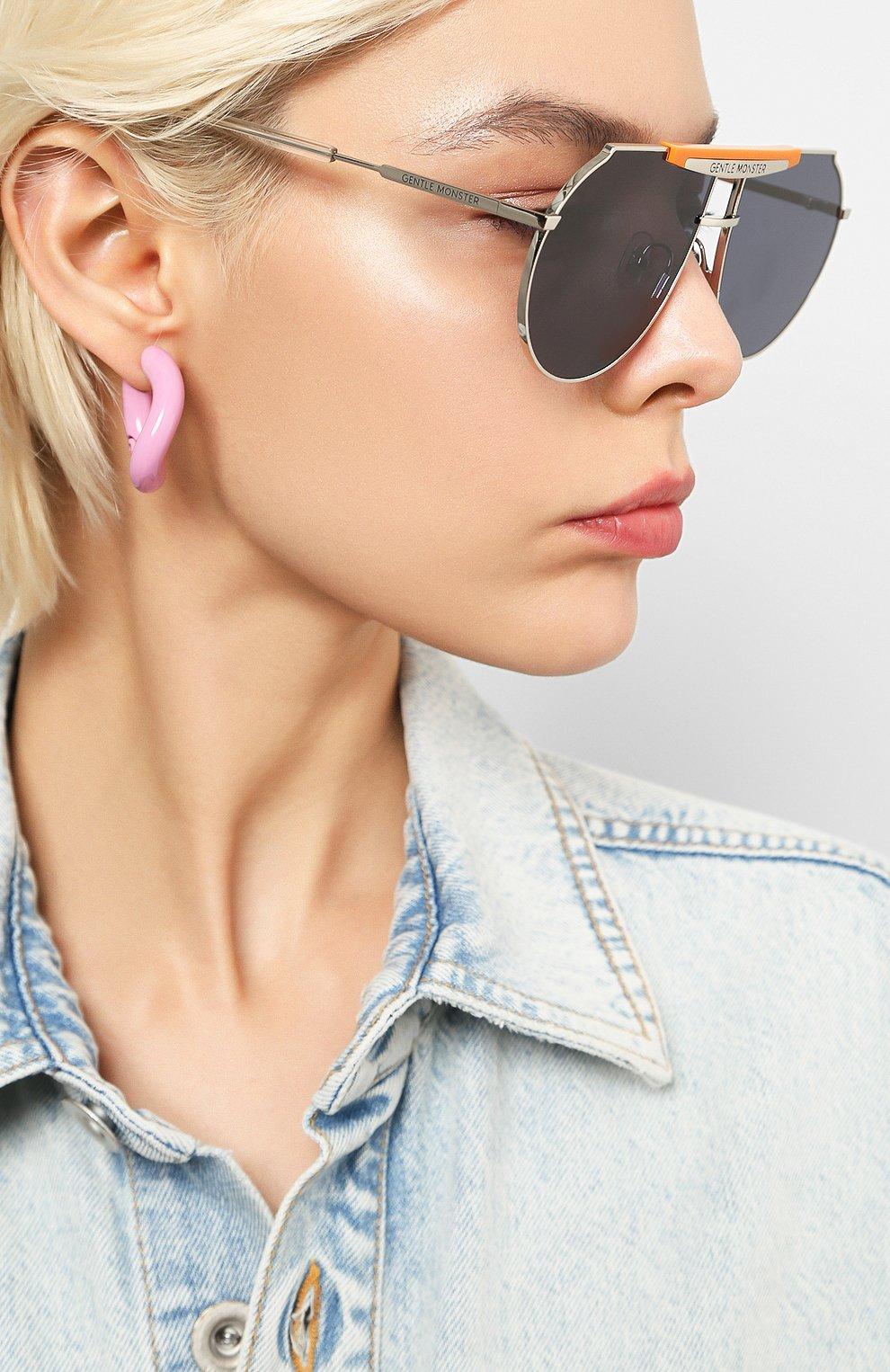 Женские солнцезащитные очки GENTLE MONSTER синего цвета, арт. T0MB0E 0R1 | Фото 2
