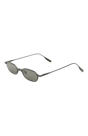 Мужские солнцезащитные очки GENTLE MONSTER черного цвета, арт. ALM0ND M01   Фото 1