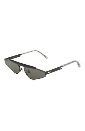 Женские солнцезащитные очки GENTLE MONSTER черного цвета, арт. NEWTURTLE M01 | Фото 1