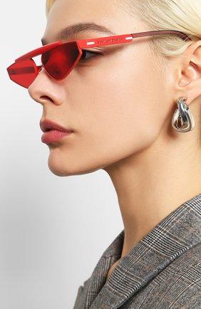 Мужские солнцезащитные очки GENTLE MONSTER красного цвета, арт. NEWTURTLE R1   Фото 2