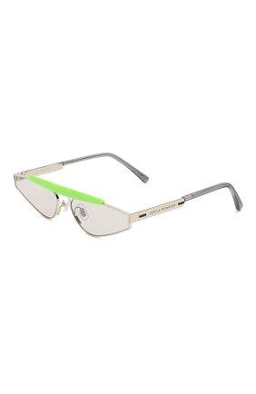 Мужские солнцезащитные очки GENTLE MONSTER серебряного цвета, арт. NEWTURTLE GR1   Фото 1