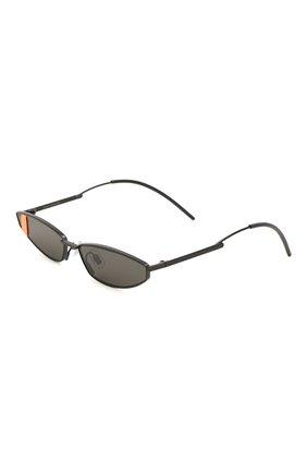 Мужские солнцезащитные очки GENTLE MONSTER черного цвета, арт. LAKERS M01   Фото 1