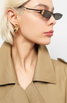 Мужские солнцезащитные очки GENTLE MONSTER черного цвета, арт. LAKERS M01   Фото 2