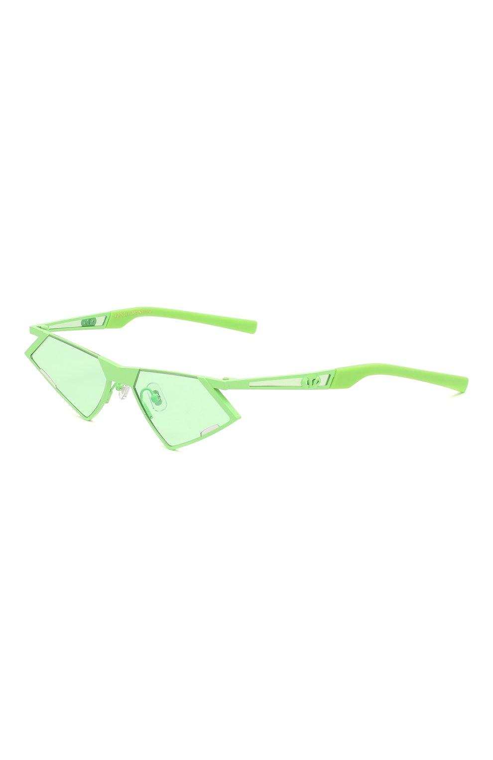 Женские солнцезащитные очки GENTLE MONSTER зеленого цвета, арт. SC0N GR1 | Фото 1