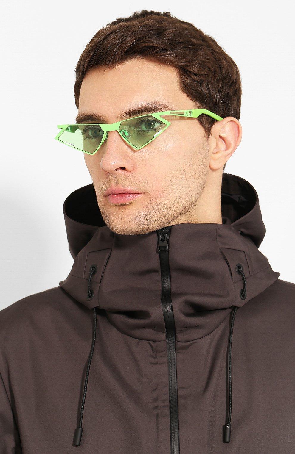 Женские солнцезащитные очки GENTLE MONSTER зеленого цвета, арт. SC0N GR1 | Фото 3