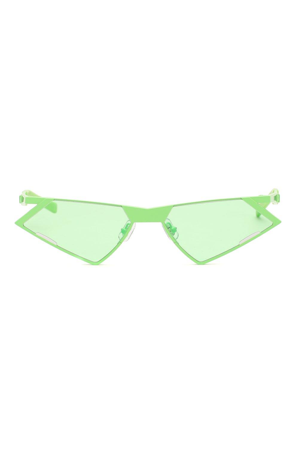 Женские солнцезащитные очки GENTLE MONSTER зеленого цвета, арт. SC0N GR1 | Фото 4