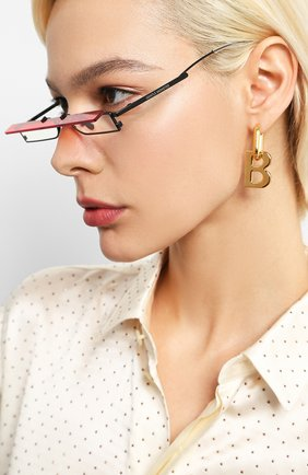 Мужские солнцезащитные очки GENTLE MONSTER красного цвета, арт. M0HENIC M01   Фото 2