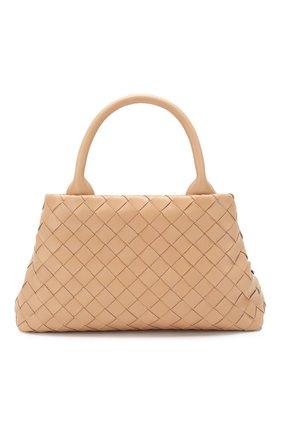 Женская сумка BOTTEGA VENETA бежевого цвета, арт. 607326/VCPP1 | Фото 1