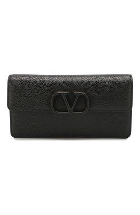 Женские кошелек valentino garavani на цепочке VALENTINO черного цвета, арт. TW0P0S93/RQR | Фото 1