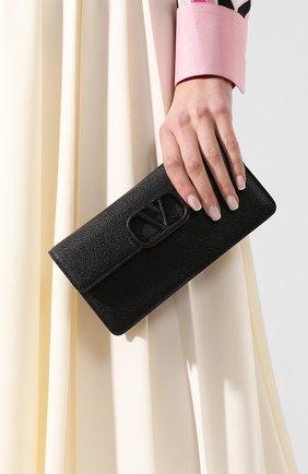 Женские кошелек valentino garavani на цепочке VALENTINO черного цвета, арт. TW0P0S93/RQR | Фото 2