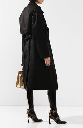 Женские сапоги FENDI черного цвета, арт. 8W7020 A8TW | Фото 2