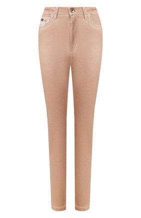 Женские джинсы DOLCE & GABBANA бежевого цвета, арт. FTAH6D/G898V | Фото 1