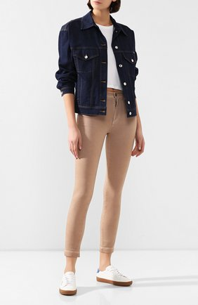 Женские джинсы DOLCE & GABBANA бежевого цвета, арт. FTAH6D/G898V | Фото 2