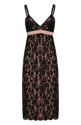 Женское платье-миди GUCCI черного цвета, арт. 609728/ZADT4   Фото 1
