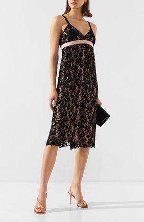 Женское платье-миди GUCCI черного цвета, арт. 609728/ZADT4   Фото 2