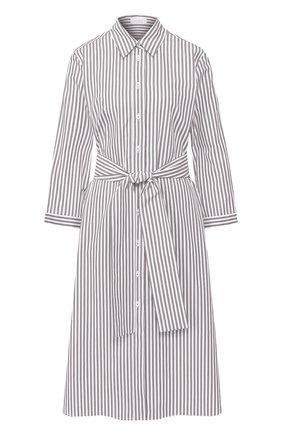 Женское хлопковое платье VAN LAACK серого цвета, арт. KATINA-SV/151758 | Фото 1