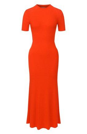 Женское шерстяное платье GABRIELA HEARST оранжевого цвета, арт. 320915 A002 | Фото 1