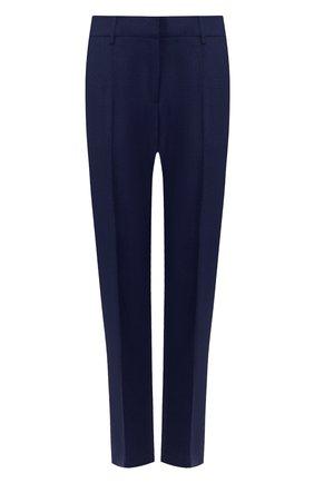 Женские шерстяные брюки GABRIELA HEARST темно-синего цвета, арт. 320204 W017 | Фото 1