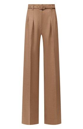 Женские шерстяные брюки GABRIELA HEARST бежевого цвета, арт. 320201 W018 | Фото 1
