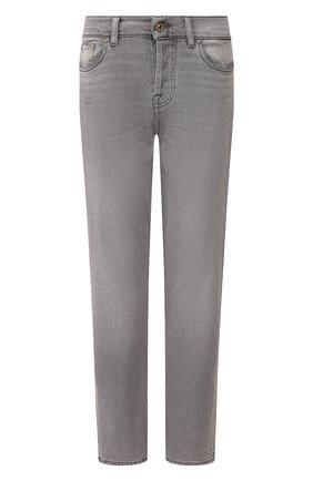 Женские джинсы 7 FOR ALL MANKIND серого цвета, арт. JSDSA420FF | Фото 1
