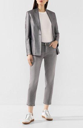 Женские джинсы 7 FOR ALL MANKIND серого цвета, арт. JSDSA420FF | Фото 2