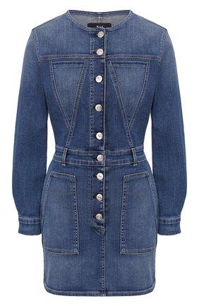 Женское джинсовое платье 3X1 синего цвета, арт. WD0040986/JUNE | Фото 1