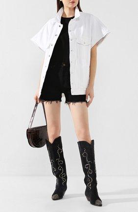 Женская джинсовая куртка IRO белого цвета, арт. WP08RUNGIS | Фото 2