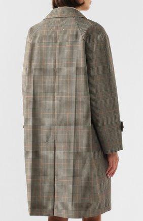 Женское пальто MAISON MARGIELA коричневого цвета, арт. S51AA0254/S52581 | Фото 4