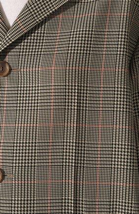 Женское пальто MAISON MARGIELA коричневого цвета, арт. S51AA0254/S52581 | Фото 5
