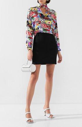 Женская юбка BALENCIAGA черного цвета, арт. 622283/TXI17 | Фото 2