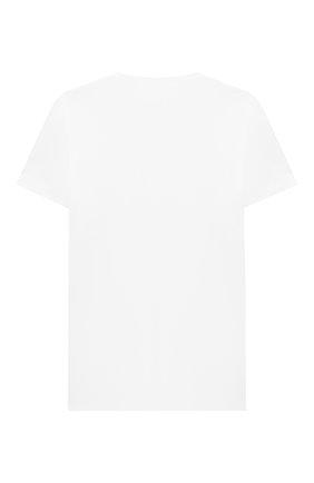 Детская хлопковая футболка PAOLO PECORA MILANO белого цвета, арт. PP2135/8A-12A | Фото 2