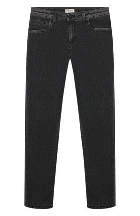 Детские джинсы PAOLO PECORA MILANO черного цвета, арт. PP2125/14A-16A   Фото 1