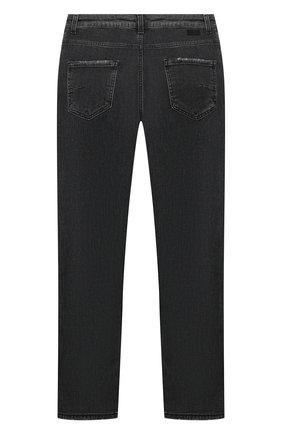 Детские джинсы PAOLO PECORA MILANO черного цвета, арт. PP2125/8A-12A | Фото 2