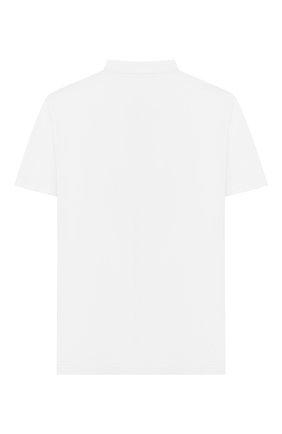Детское хлопковое поло PAOLO PECORA MILANO белого цвета, арт. PP2123/8A-12A | Фото 2