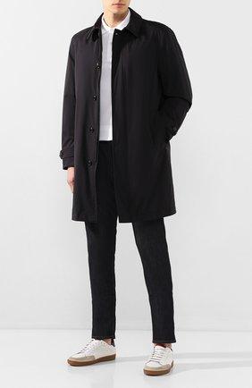Мужской пуховое пальто kergolo MONCLER черного цвета, арт. F1-091-1C507-00-539MN | Фото 2